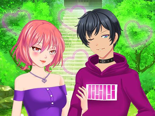 Anime Çiftler Giydirme