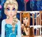 Elsa Annayı Kurtarıyor Oyunu Oyna