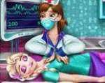 Elsa Kalp Masajı Oyunu Oyna