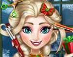 Elsa Yeni Yıl Saç Tasarımı Oyunu Oyna