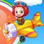 Hazel Bebek Uçakta Oyun Oyna