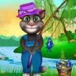Konuşan Kedi İle Balık Tutma Oyunu