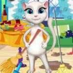 Konuşan Kedi Oda Temizliği