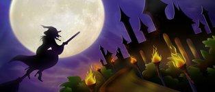 Süpürgeli Cadı Oyunu Oyna